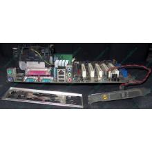 Материнская плата Asus P4PE (FireWire) с процессором Intel Pentium-4 2.4GHz s.478 и памятью 768Mb DDR1 Б/У (Ноябрьск)