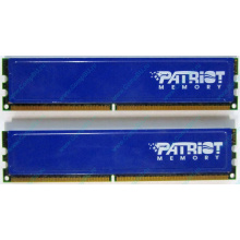 Память 1Gb (2x512Mb) DDR2 Patriot PSD251253381H pc4200 533MHz (Ноябрьск)